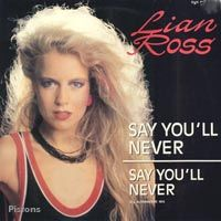 Cover Lian Ross - Say You'll Never