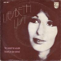 Cover Liesbeth List - Te veel te vaak