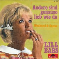 Cover Lill Babs - Andere sind genauso lieb wie du
