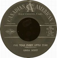 Cover Linda Scott - I've Told Every Little Star