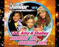 Cover Lisa, Amy & Shelley - Adem in, adem uit