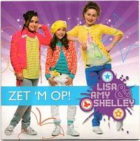 Cover Lisa, Amy & Shelley - Zet 'm op!