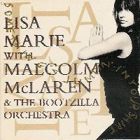Cover Lisa Marie with Malcolm McLaren And The Bootzilla Orchestra - Something's Jumpin' In Your Shirt