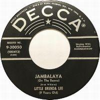 Cover Little Brenda Lee - Jambalaya (On The Bayou)