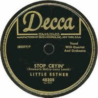 Cover Little Esther - Stop Cryin'