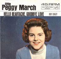 Cover Little Peggy March - Hello Heartache, Goodbye Love
