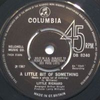 Cover Little Richard - A Little Bit Of Something (Beats A Whole Lot Of Nothing)