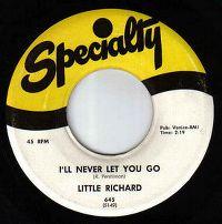 Cover Little Richard - I'll Never Let You Go
