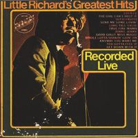 Cover Little Richard - Little Richard's Greatest Hits - Recorded Live