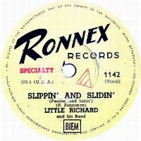 Cover Little Richard - Slippin' And Slidin' (Peepin' And Hidin')