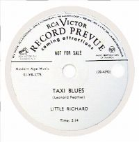 Cover Little Richard - Taxi Blues