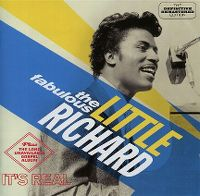 Cover Little Richard - The Fabulous Little Richard / The Long Unavailable Gospel Album It's Real