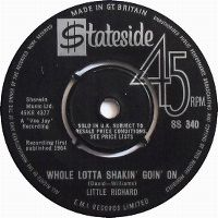 Cover Little Richard - Whole Lotta Shakin' Goin' On