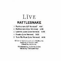 Cover Live - Rattlesnake