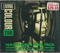Cover Living Colour - Stain