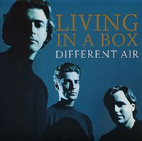 Cover Living In A Box - Different Air