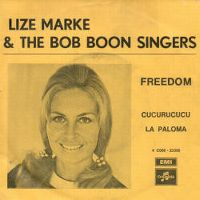 Cover Lize Marke & The Bob Boon Singers - Freedom