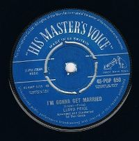 Cover Lloyd Price - I'm Gonna Get Married