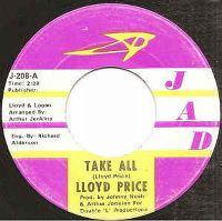 Cover Lloyd Price - Take All