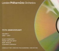 Cover London Philharmonic Orchestra - 75th Anniversary - Volume 3