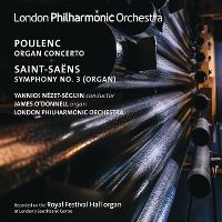 Cover London Philharmonic Orchestra - Poulenc - Saint-Saëns