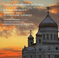 Cover London Philharmonic Orchestra - Rachmaninoff: Symphony No. 3 / 10 Songs