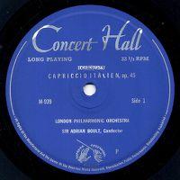 Cover London Philharmonic Orchestra - Tchaikowsky: Capriccio Italien, op. 45