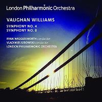 Cover London Philharmonic Orchestra - Vaughan Williams: Symphony No. 4 - Symphony No. 8