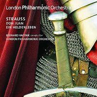 Cover London Philharmonic Orchestra / Bernard Haitink - Strauss: Don Juan - Ein Heldenleben