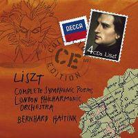 Cover London Philharmonic Orchestra / Bernhard Haitink - Complete Symphonic Poems - Liszt