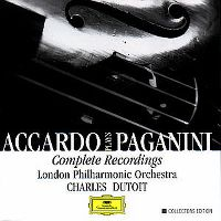 Cover London Philharmonic Orchestra / Charles Dutoit - Accardo Plays Paganini - Complete Recordings