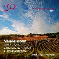 Cover London Symphony Orchestra - Mendelssohn