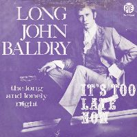 Cover Long John Baldry - It's Too Late Now