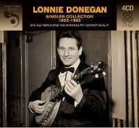 Cover Lonnie Donegan - Singles Collection 1955-1962