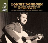 Cover Lonnie Donegan - Six Classic Albums Plus EP's And Singles