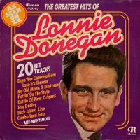 Cover Lonnie Donegan - The Greatest Hits Of...