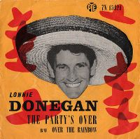 Cover Lonnie Donegan - The Party's Over