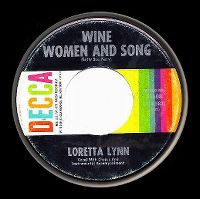Cover Loretta Lynn - Wine, Women And Song