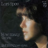 Cover Lori Spee - How Many Times