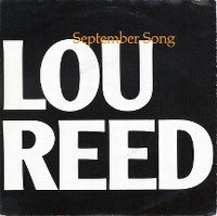 Cover Lou Reed - September Song