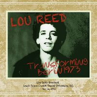 Cover Lou Reed - Transforming Berlin 1973
