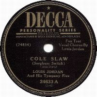 Cover Louis Jordan - Cole Slaw (Shorghum Switch)