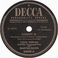 Cover Louis Jordan - Daddy-O