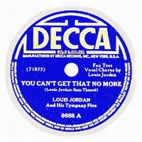 Cover Louis Jordan - You Can't Get That No More