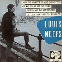 Cover Louis Neefs - Aan de Amsterdamse grachten