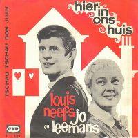 Cover Louis Neefs & Jo Leemans - Hier in ons huis