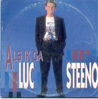 Cover Luc Steeno - Als ik ga