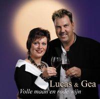 Cover Lucas & Gea - Volle maan en rode wijn