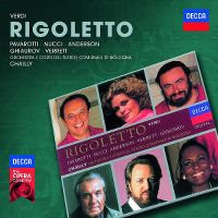 Cover Luciano Pavarotti - Rigoletto - Verdi