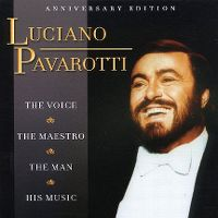 Cover Luciano Pavarotti - The Voice - The Maestro - The Man - His Music
